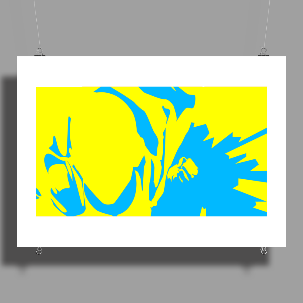 silhouette Poster Print (Landscape)