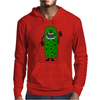 Silly Funny Pickle Tickle Monster Mens Hoodie