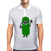 Silly Funny Pickle Tickle Monster Mens Polo