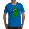 Silly Funny Pickle Tickle Monster Mens T-Shirt