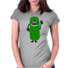 Silly Funny Pickle Tickle Monster Womens Fitted T-Shirt