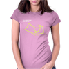 Silverstone UK GP Circuit Womens Fitted T-Shirt