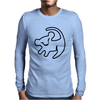 Simba Rafiki Drawing Lion King Mens Long Sleeve T-Shirt