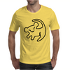 Simba Rafiki Drawing Lion King Mens T-Shirt