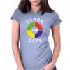 Simon Says Funny Womens Fitted T-Shirt