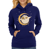 Simple Owl Womens Hoodie