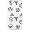 Simply beautiful geometric tattoos seamless pattern Phone Case