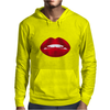 Simply red lips Mens Hoodie