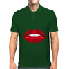 Simply red lips Mens Polo