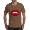 Simply red lips Mens T-Shirt