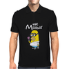 Simpsons Minion Movie Parody Homer Funny Mens Polo