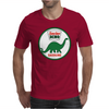 Sinclair Dino Gasoline vintage sign. Flat and clean version. Mens T-Shirt