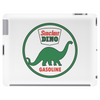 Sinclair Dino Gasoline vintage sign. Flat and clean version. Tablet