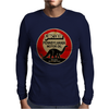 Sinclair Motor Oil distressed version Mens Long Sleeve T-Shirt