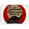 Sinclair Motor Oil distressed version Tablet