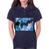 Singing the Blues Womens Polo