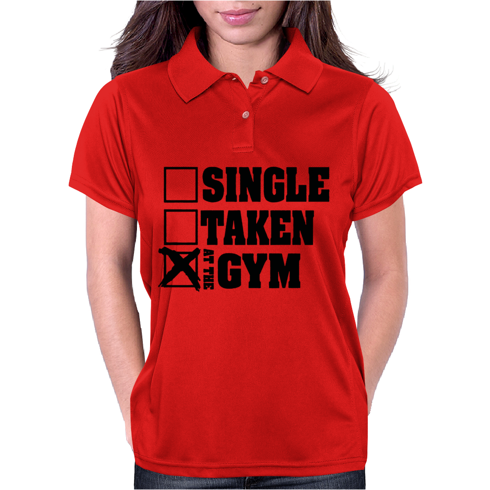 Single Taken At the Gym Womens Polo