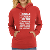 Single Taken In The Garage Building A Race Car Womens Hoodie