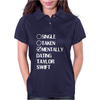 Single Taken Mentally Dating Taylor Swift Womens Polo