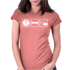 Singlet Eat Sleep Fish Womens Fitted T-Shirt