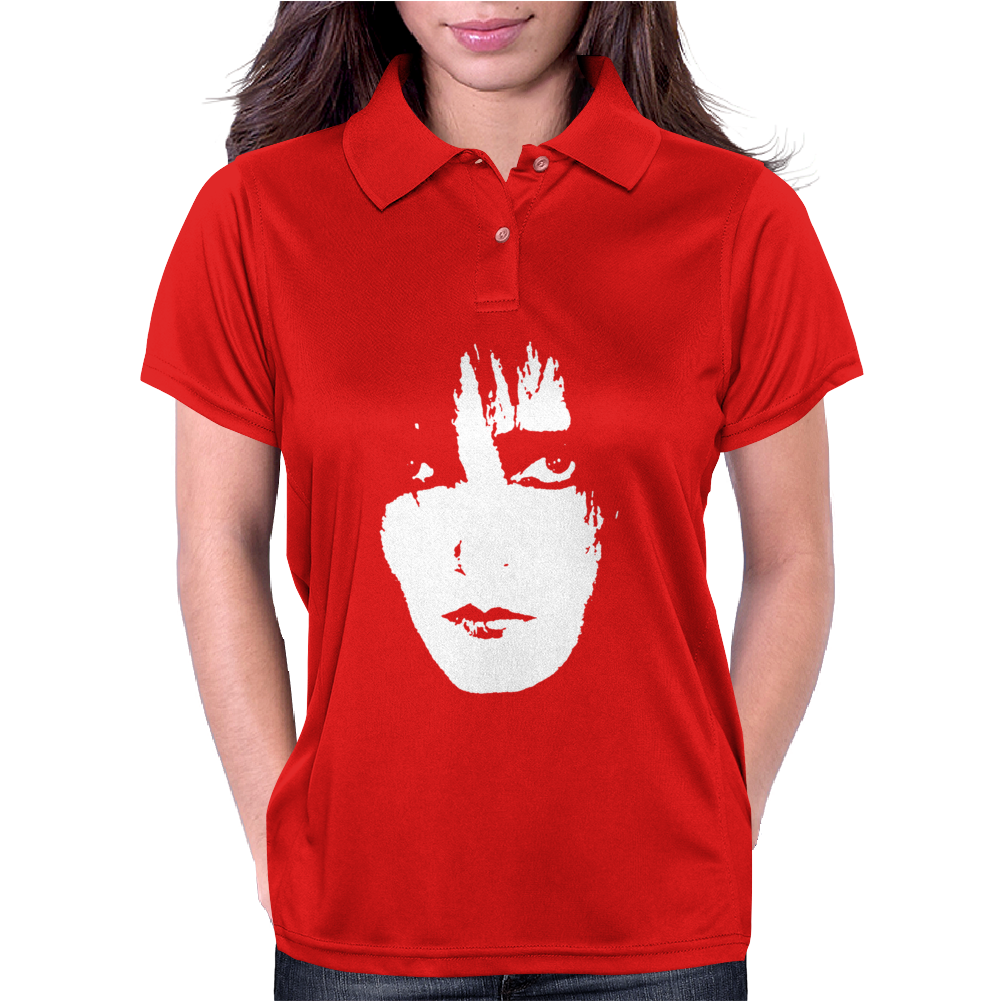 Siouxsie And The Banshees Sioux Face Post Punk Womens Polo