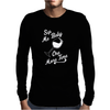 Sip Me Baby One More Time Wine Glass Mens Long Sleeve T-Shirt