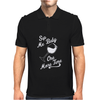 Sip Me Baby One More Time Wine Glass Mens Polo