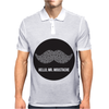 SIR MOUSTACHE MR Mens Polo