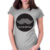 SIR MOUSTACHE MR Womens Fitted T-Shirt