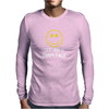 Sit On A Happy Face Mens Long Sleeve T-Shirt