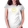 Sit On A Happy Face Womens Fitted T-Shirt
