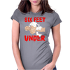 Six Feet Under Womens Fitted T-Shirt