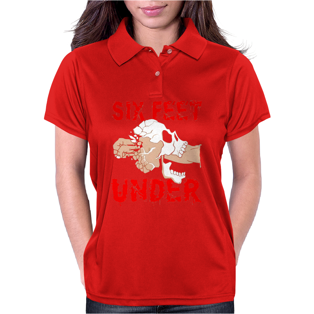 Six Feet Under Womens Polo