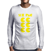 Six Pac Printed Mens Long Sleeve T-Shirt