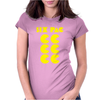 Six Pac Printed Womens Fitted T-Shirt