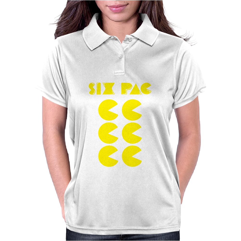 Six Pac Printed Womens Polo