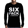 SIX PACK COMING SOON Mens Long Sleeve T-Shirt