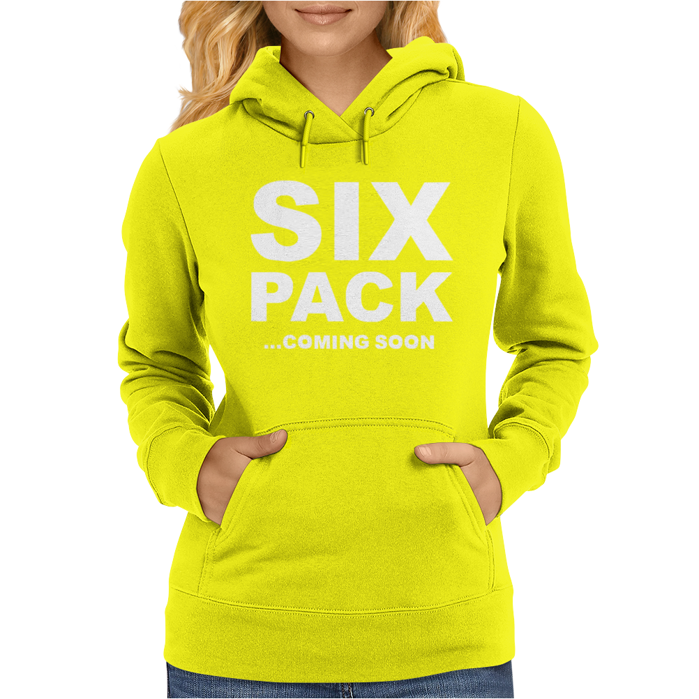 SIX PACK COMING SOON Mens Womens Hoodie
