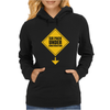 Six Pack Under Construction Womens Hoodie