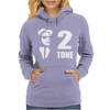 Ska 2 Tone Music Reggae Punk Retro Rude Boy Womens Hoodie