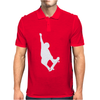 SKATEBOARD funny Mens Polo