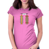 Skateboard Womens Fitted T-Shirt