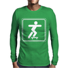 Skateboarding Skate Skaters Mens Long Sleeve T-Shirt