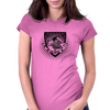 skater shield Womens Fitted T-Shirt