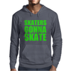 Skaters Gonna Skate Mens Hoodie