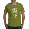 Skeleton Baby Mens T-Shirt