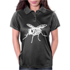 Skeleton Bug Womens Polo