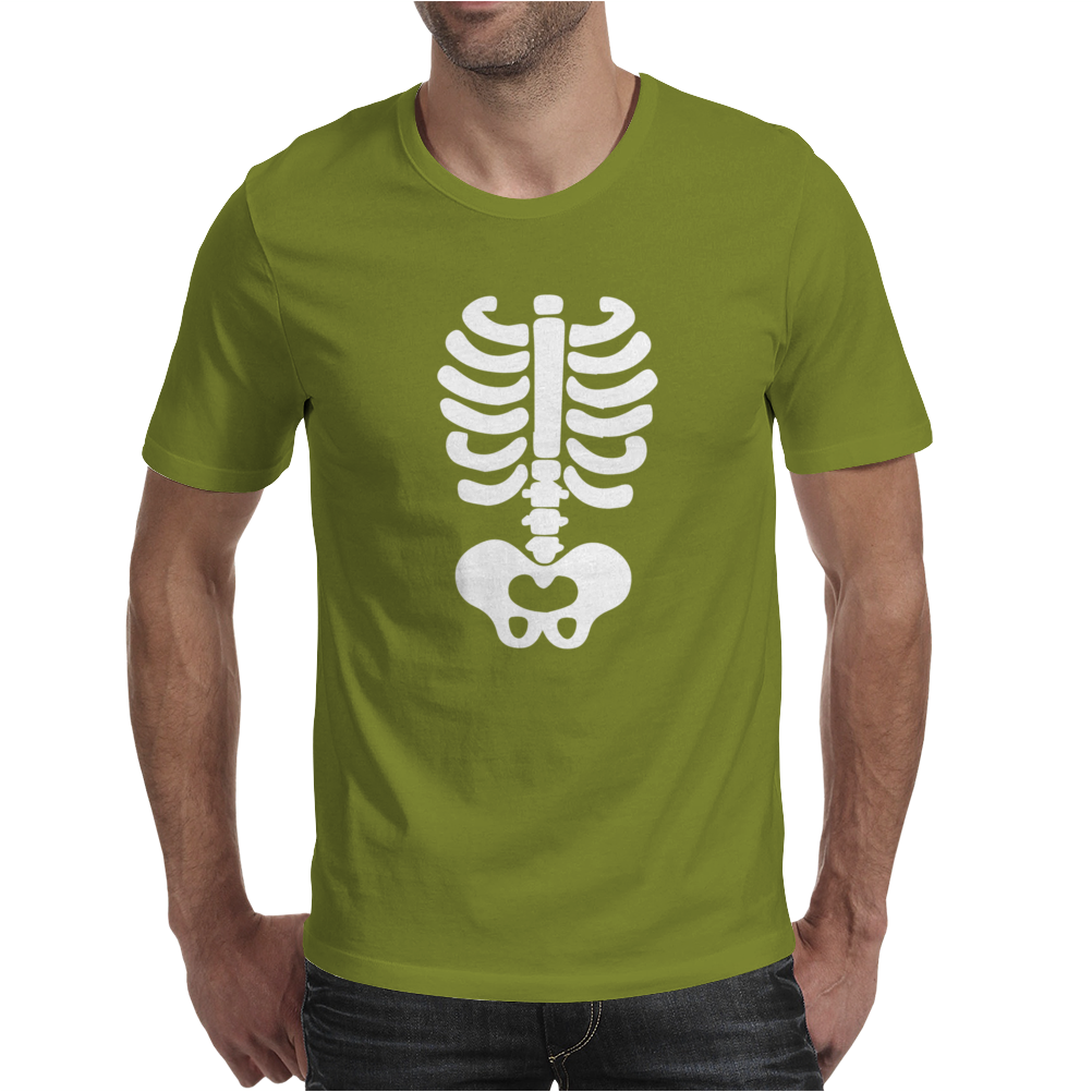 Skeleton Halloween Mens T-Shirt