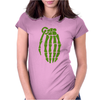 Skeleton Hand Grenade Breaking Bad Womens Fitted T-Shirt