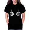 Skeleton Hands Womens Polo